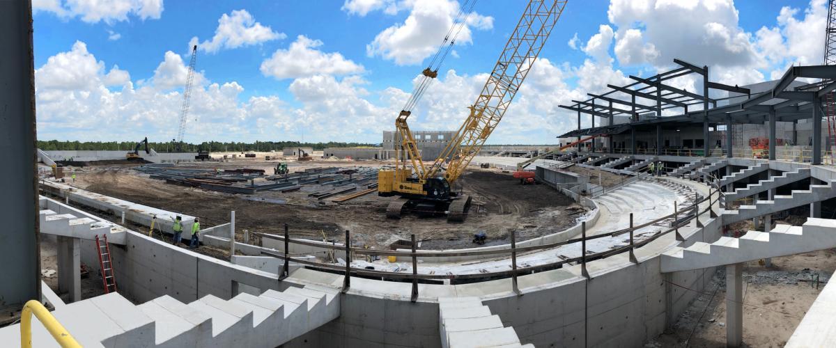 Atlanta Braves Spring Training Facility Progress Report Tandem