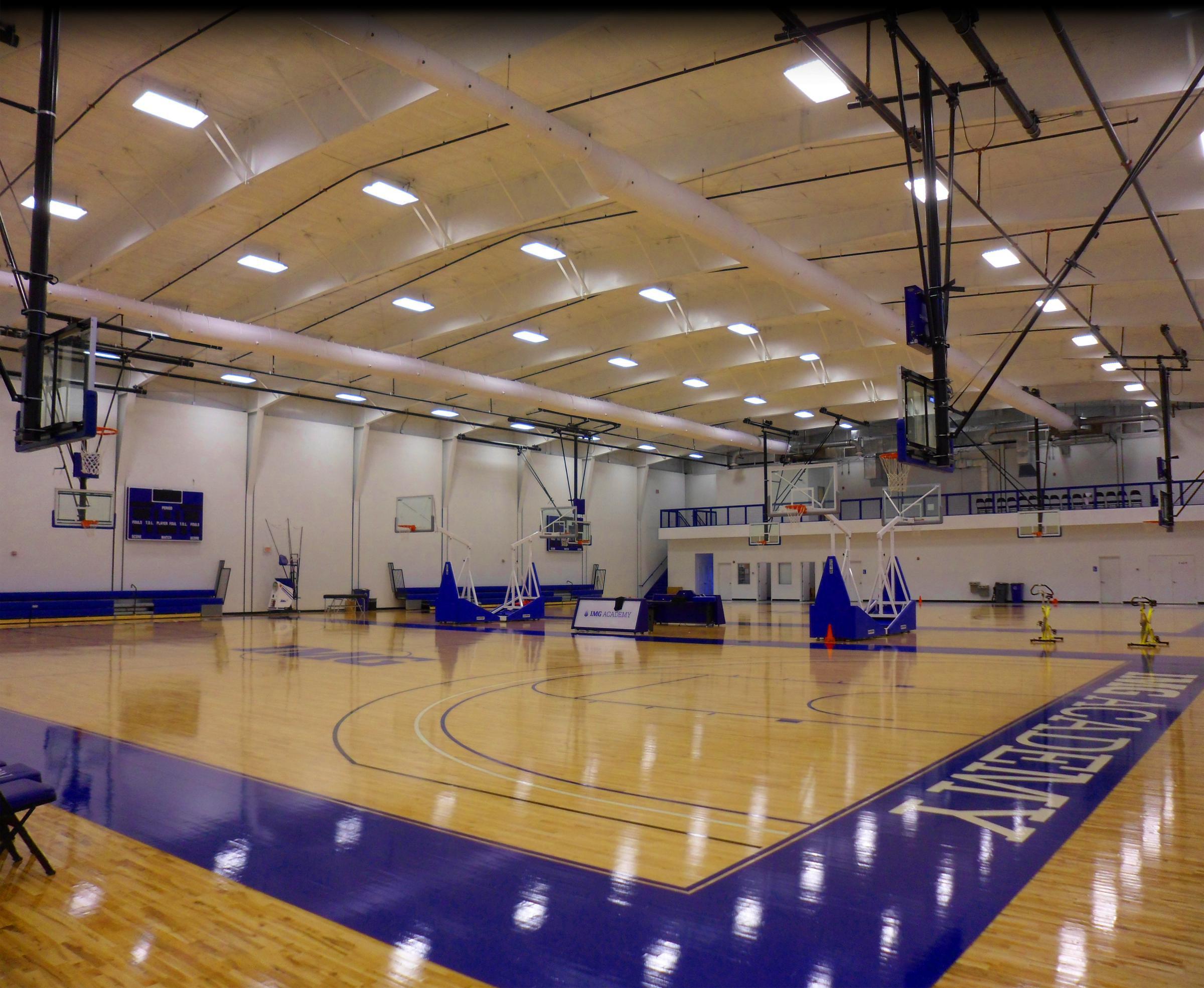 Img: IMG Academy Basketball Gymnasium